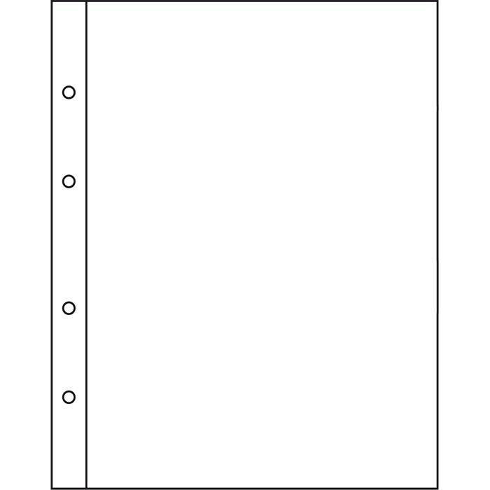 Лист NUMIS LEUCHTTURM для банкнот розміром до 165 х 219 мм
