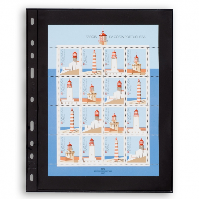 Черный лист OPTIMA LEUCHTTURM размером до 180 х 245 мм