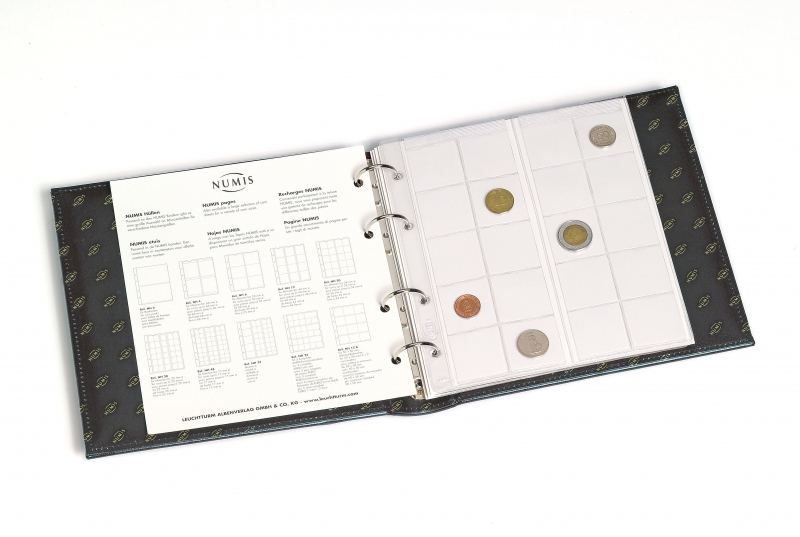 Альбом Classic NUMIS LEUCHTTURM с футляром для 143 монет 2