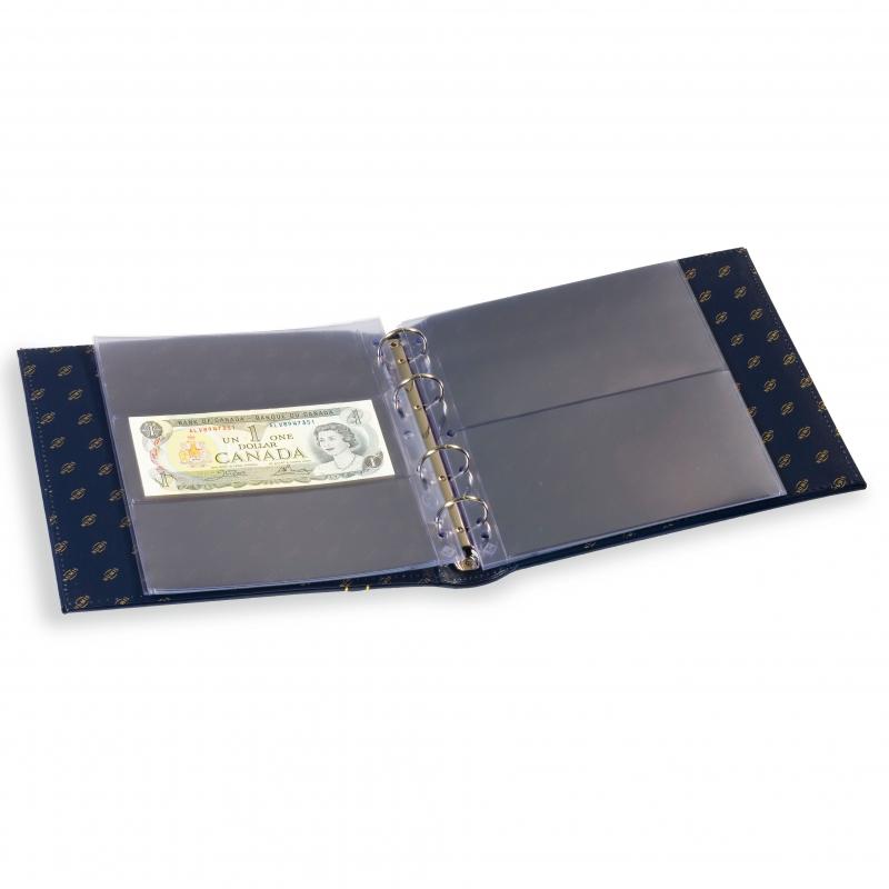 Альбом NUMIS LEUCHTTURM для банкнот с футляром