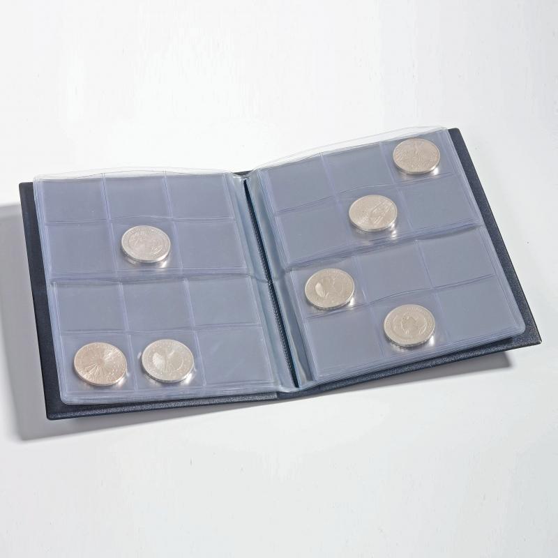 Кишеньковий альбом NUMIS LEUCHTTURM для 96 монет 2
