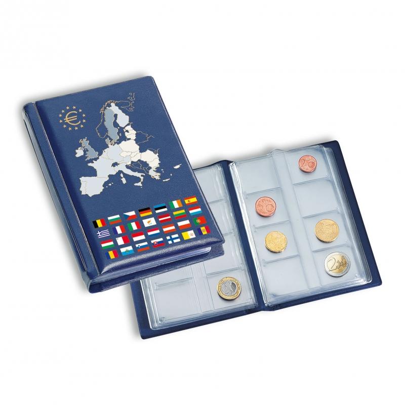 Карманный альбом NUMIS для 96 монет евро