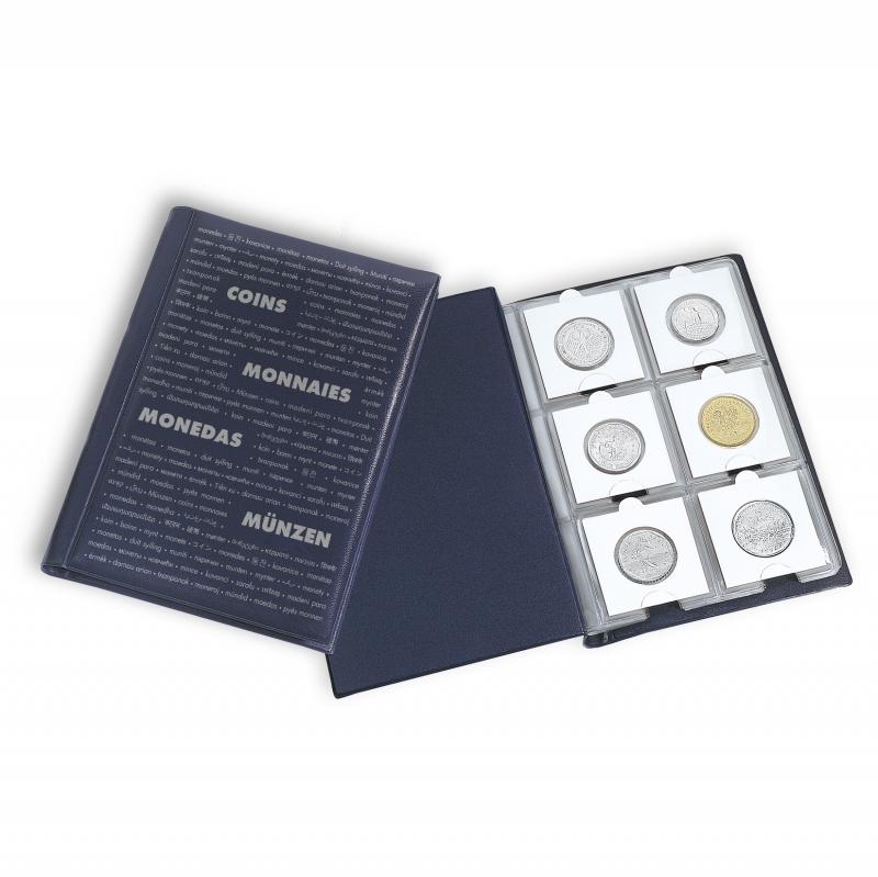 Карманный альбом NUMIS LEUCHTTURM для 60 монет в холдерах