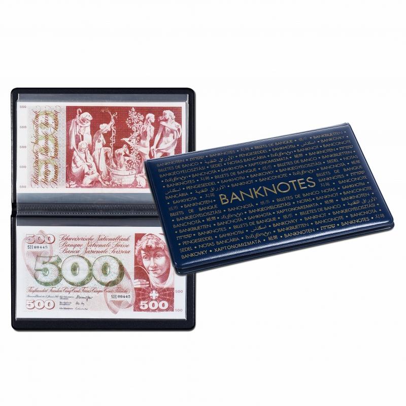 Карманный альбом LEUCHTTURM для 20 банкнот 210 х 125 мм