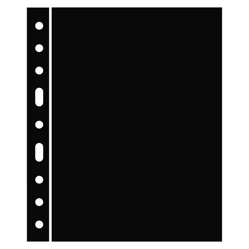 Разделительный лист GRANDE LEUCHTTURM черного цвета