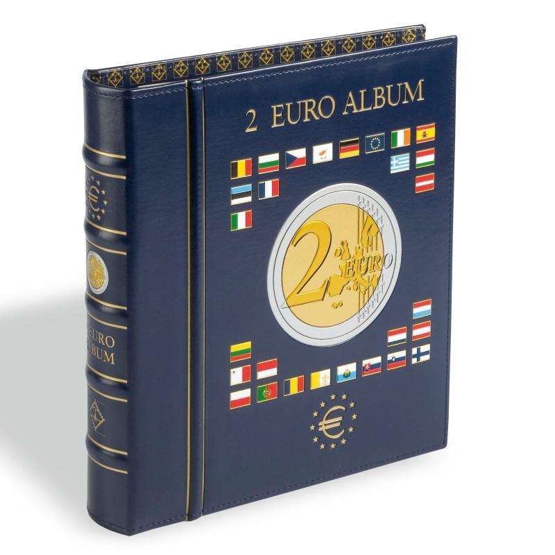 Папка VISTA для монет 2 євро з футляром