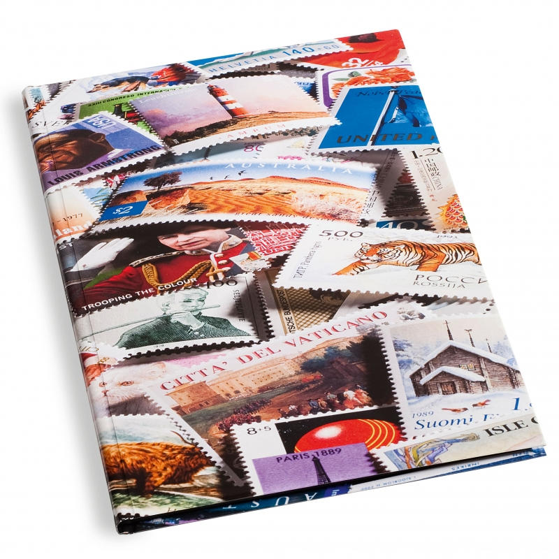 Кляссер (альбом) для марок на 8 листов