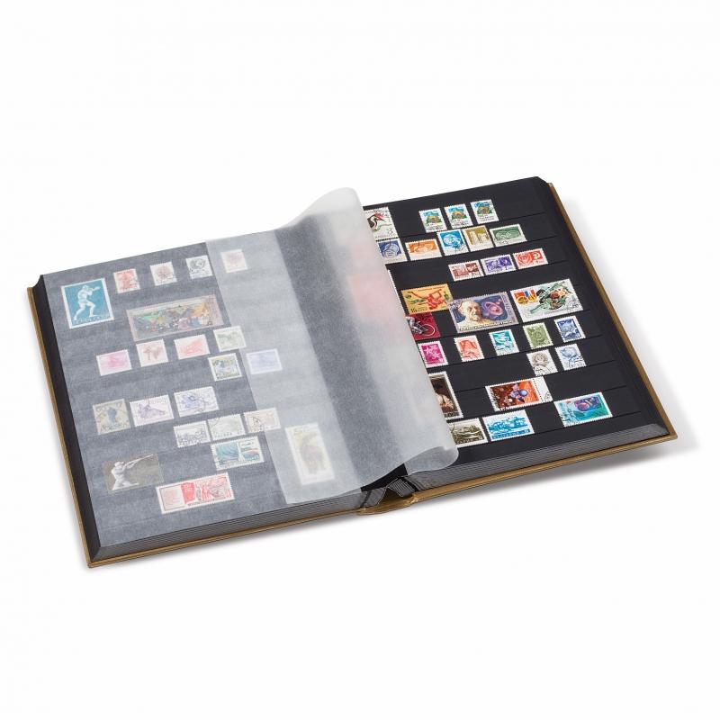 Клясер (альбом) для марок на 32 листки з ватованою обкладинкою серії