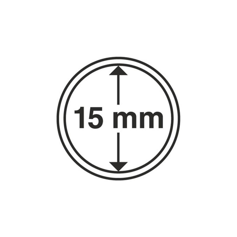 Капсула Leuchtturm для монет діаметр 15 мм