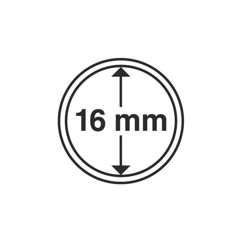 Капсула Leuchtturm для монет діаметр 16 мм