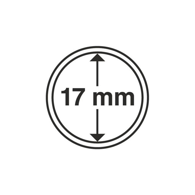Капсула Leuchtturm для монет діаметр 17 мм