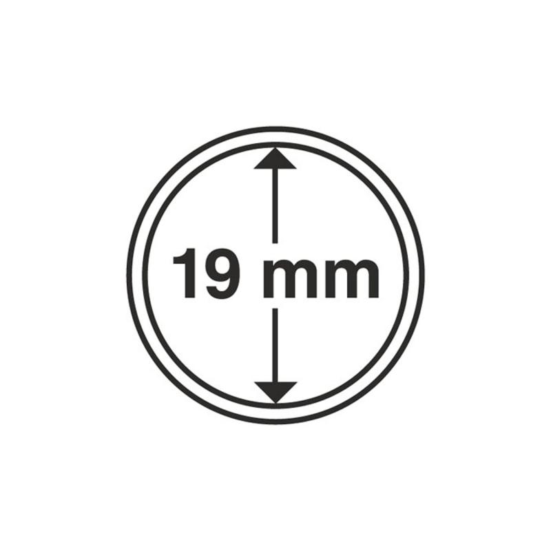 Капсула Leuchtturm для монет діаметр 19 мм