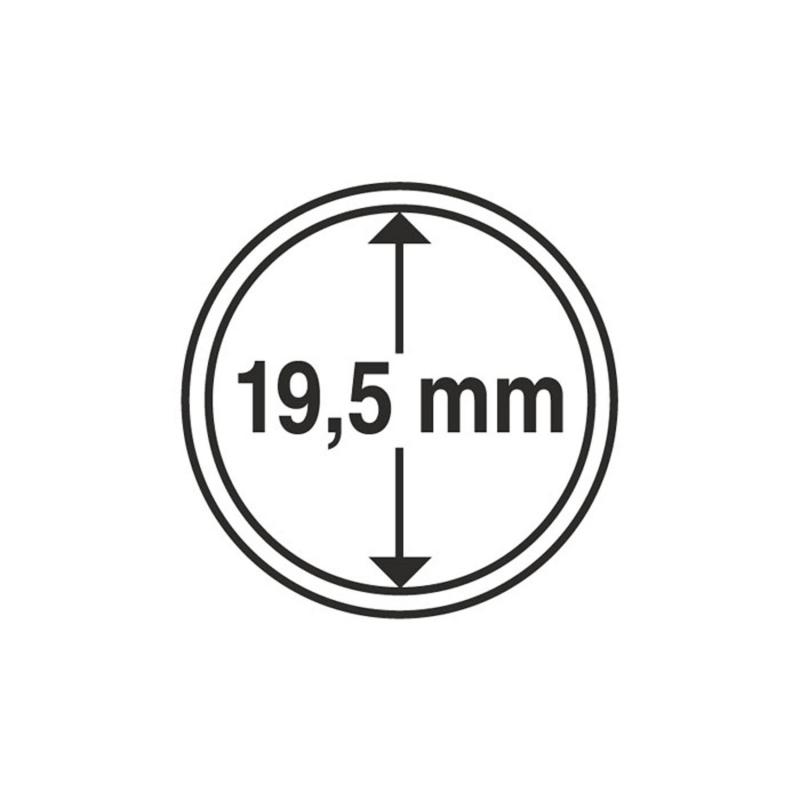 Капсула Leuchtturm для монет діаметр 19,5 мм