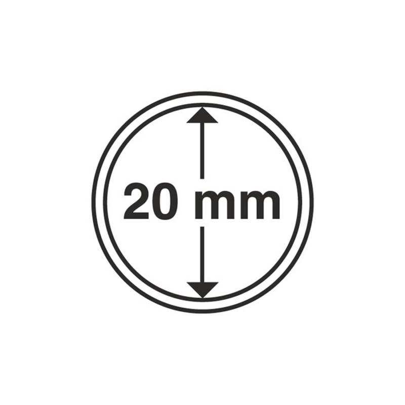 Капсула Leuchtturm для монет діаметр 20 мм