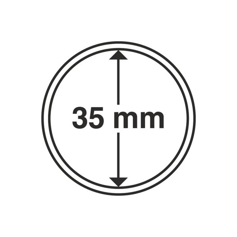 Капсула Leuchtturm для монет діаметр 35 мм