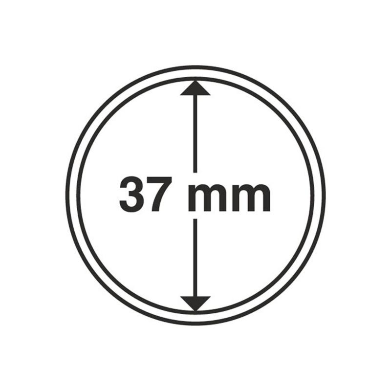 Капсула Leuchtturm для монет діаметр 37 мм