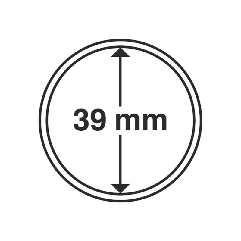 Капсула Leuchtturm для монет діаметр 39 мм