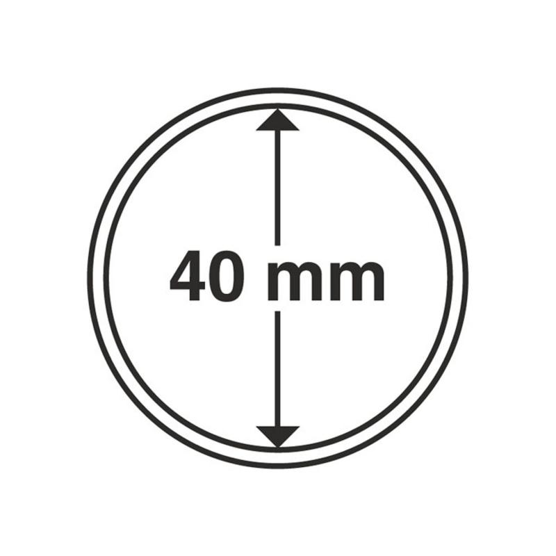 Капсула Leuchtturm для монет діаметр 40 мм