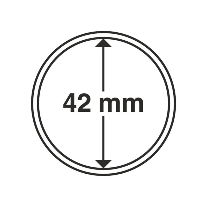 Капсула Leuchtturm для монет діаметр 42 мм