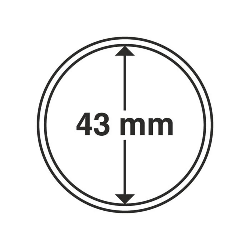 Капсула Leuchtturm для монет діаметр 43 мм