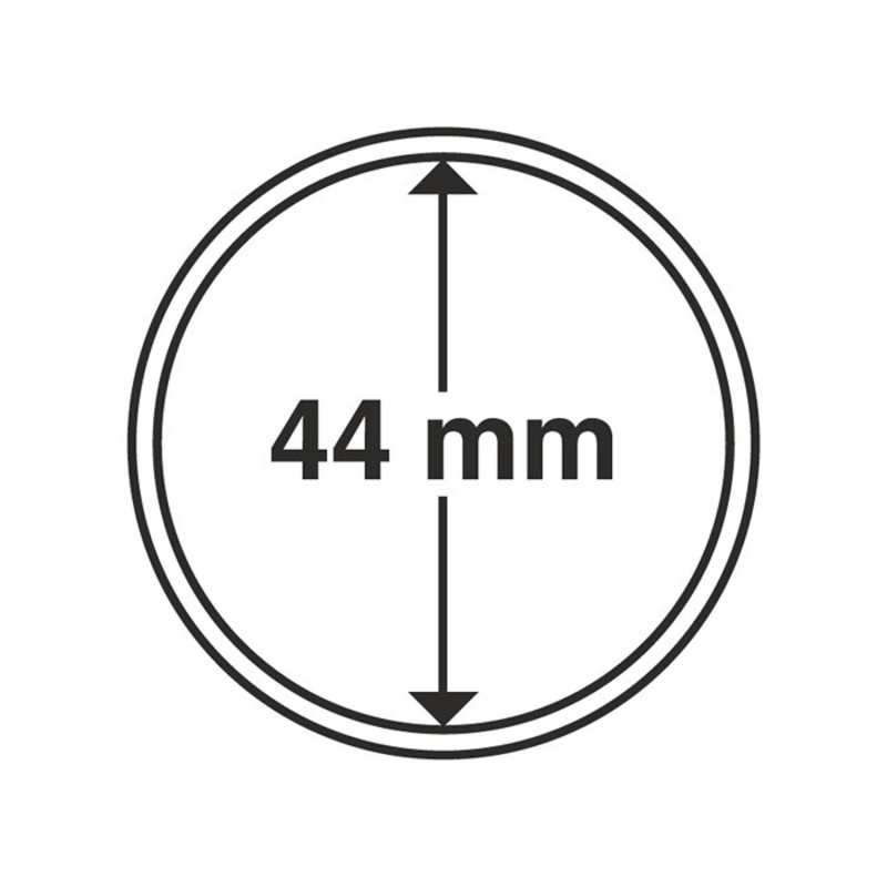 Капсула Leuchtturm для монет діаметр 44 мм