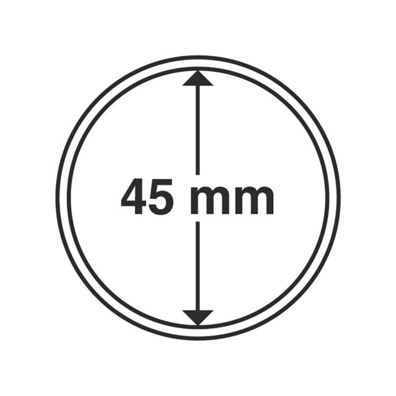 Капсула Leuchtturm для монет діаметр 45 мм