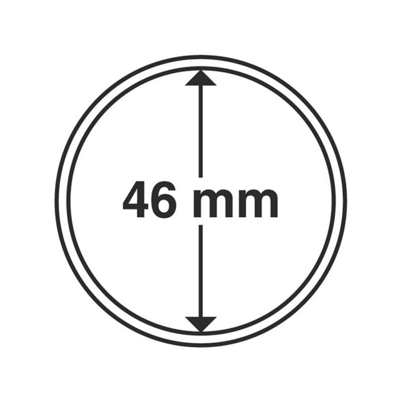 Капсула Leuchtturm для монет діаметр 46 мм