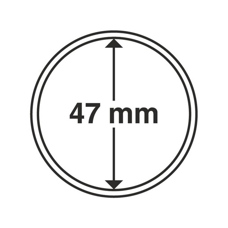 Капсула Leuchtturm для монет діаметр 47 мм