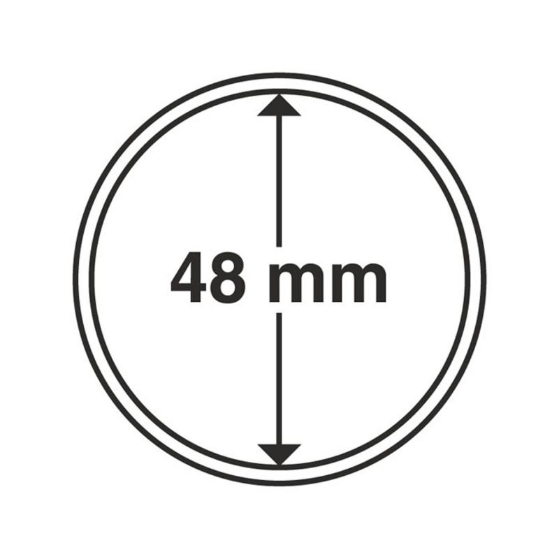 Капсула Leuchtturm для монет діаметр 48 мм