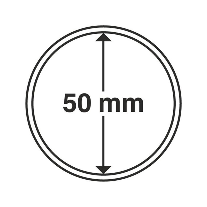 Капсула Leuchtturm для монет діаметр 50 мм