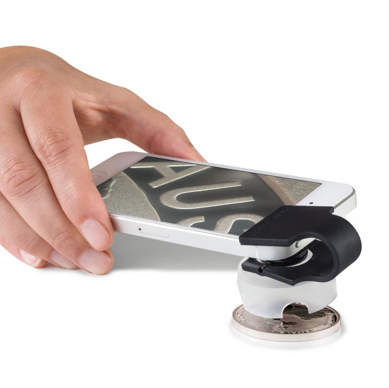 Макролинза PHONESCOPE с 60 -кратным увеличением , для смартфонов