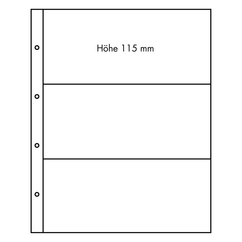 Лист FOLIO - 3 ячейки
