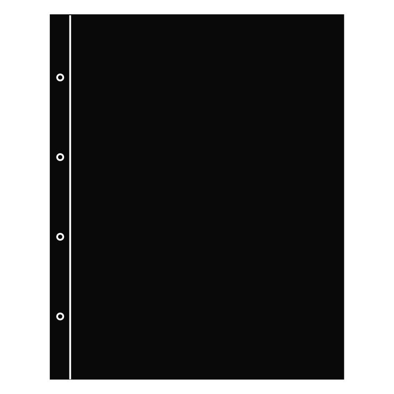 Разделительный лист FOLIO (черного цвета)