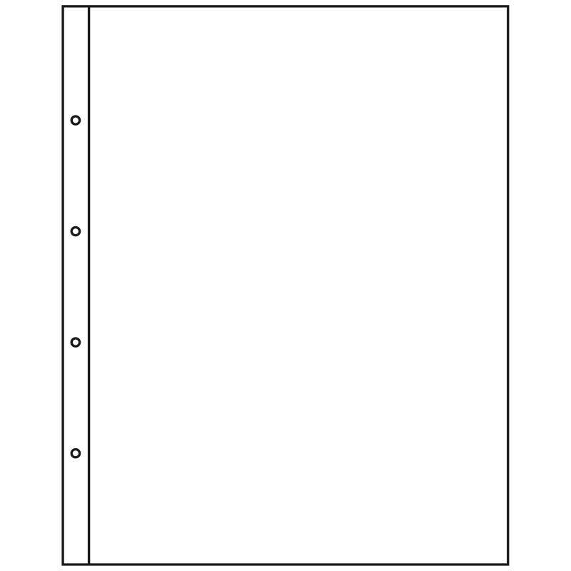Лист KANZLEI для матеріалів великого формату - 1 комірка