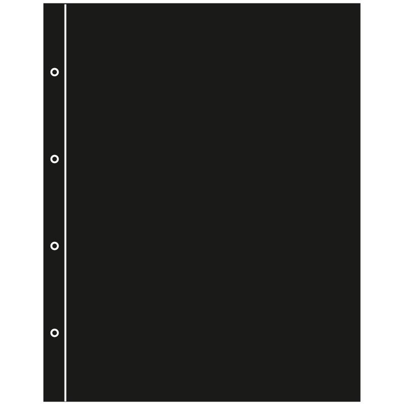 Лист для оптичного поділу аркушів KANZLEI (чорного кольору)