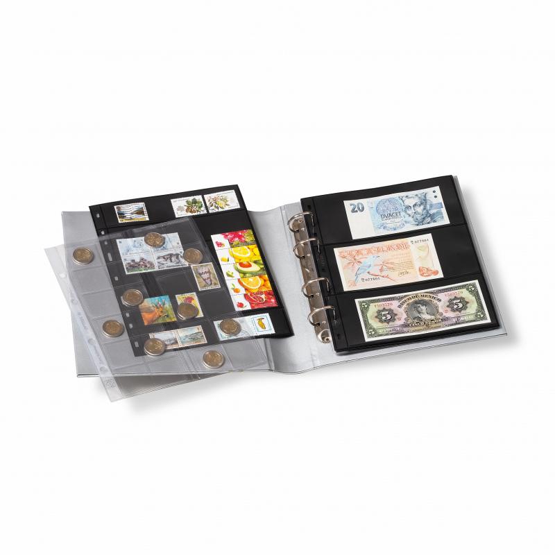 Папка OPTIMA Classic LEUCHTTURM з футляром для банкнот 2