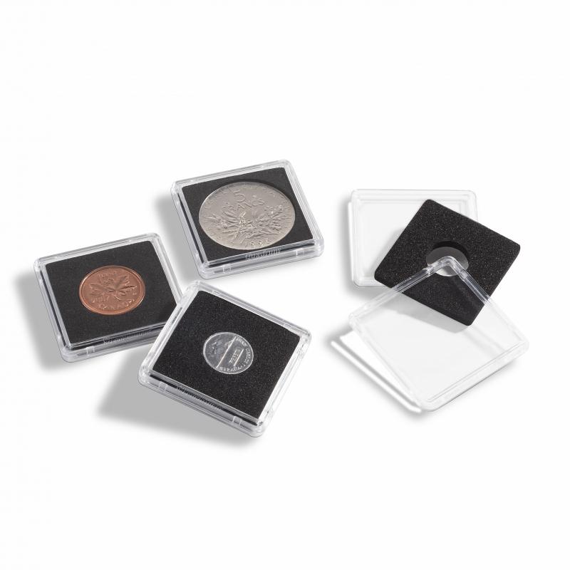 Квадратная капсула Mini для монет 20 мм