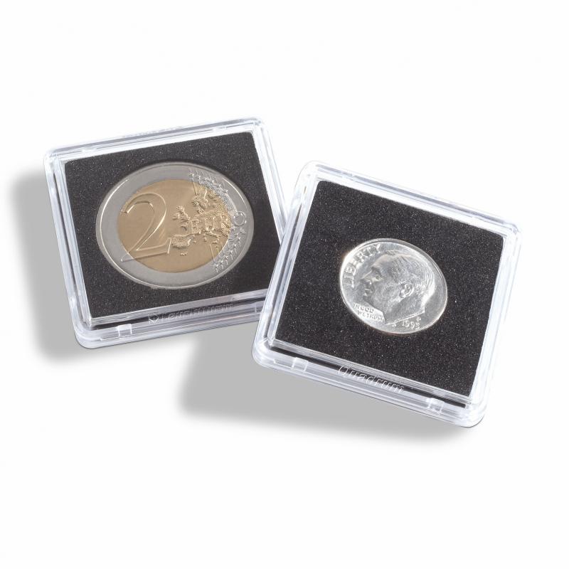 Квадратна капсула Mini для монет 22 мм 2