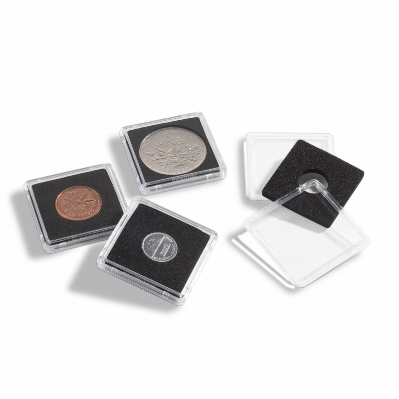 Квадратная капсула Mini для монет 27 мм