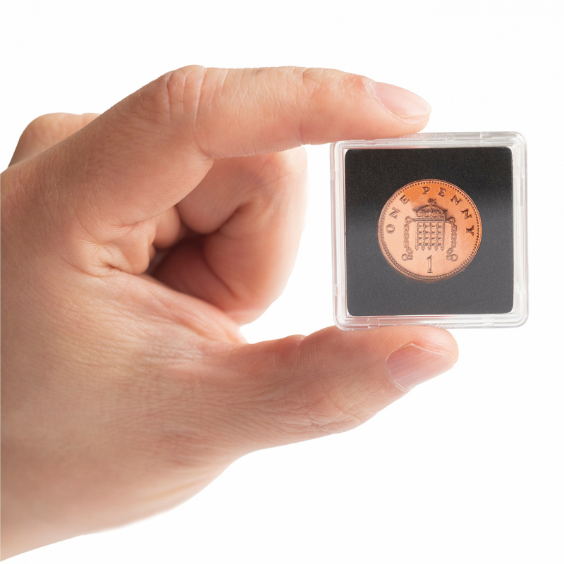 Квадратна капсула Mini для монет 28 мм 3