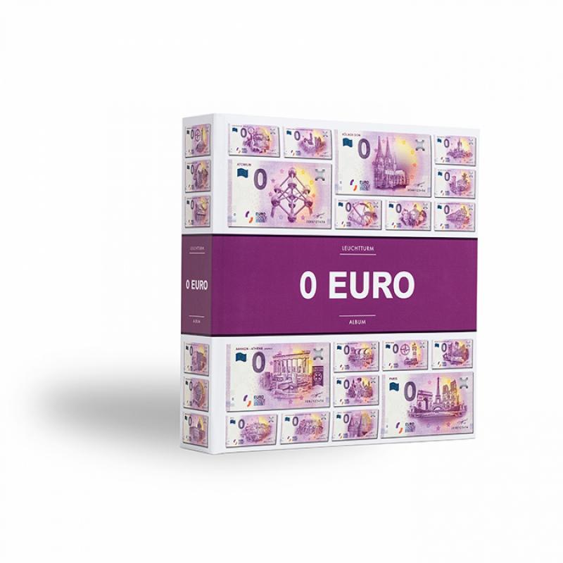 Альбом для 200 банкнот Euro Souvenir