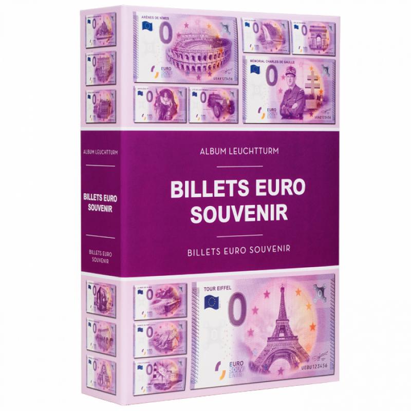 Альбом для 420 банкнот Euro Souvenir