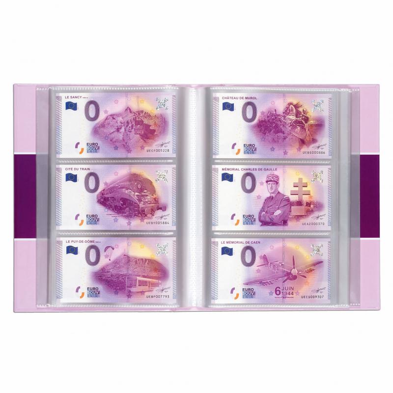Альбом для 420 банкнот Euro Souvenir 2