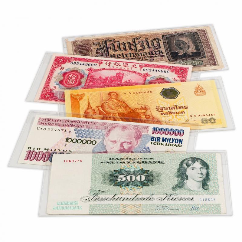Защитные листы-обложки для банкнот BASIC 204 2