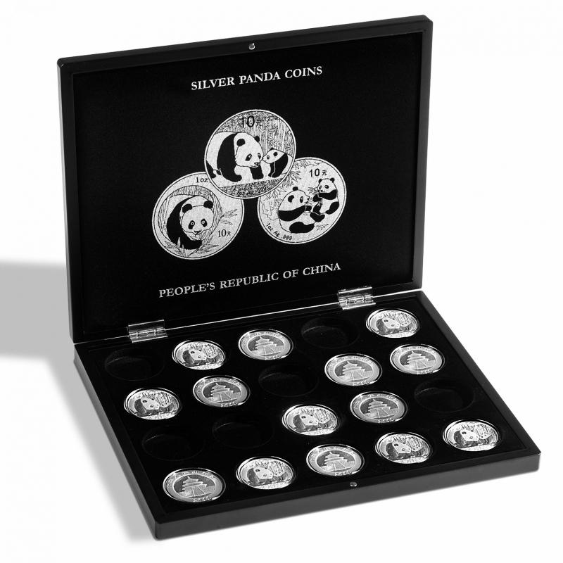 Касета VOLTERRA для 20 срібних монет
