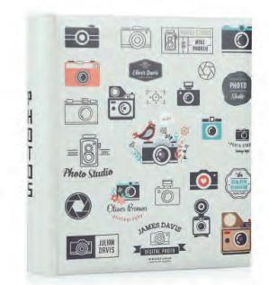 Фотоальбом HOFMANN під куточки 30 х 30 см на 60 сторінок модель 1632