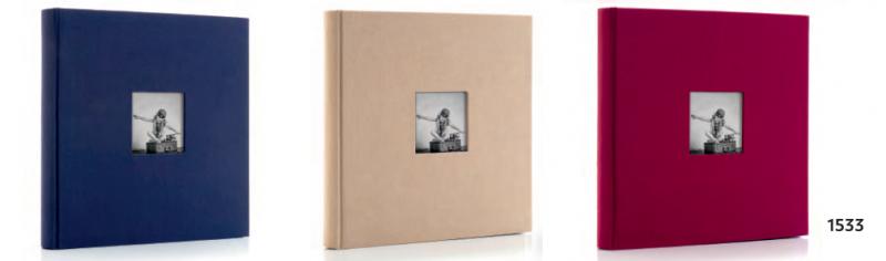 Фотоальбом HOFMANN під куточки 27 х 27 см на 40 сторінок модель 1633